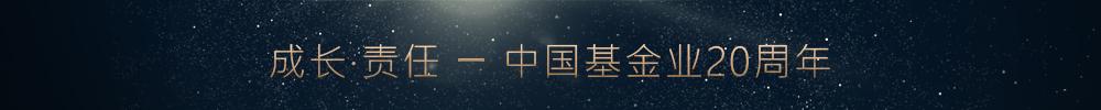 成长·责任 中国基金业20周年